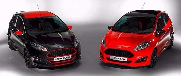Ford lance la Fiesta Red Edition