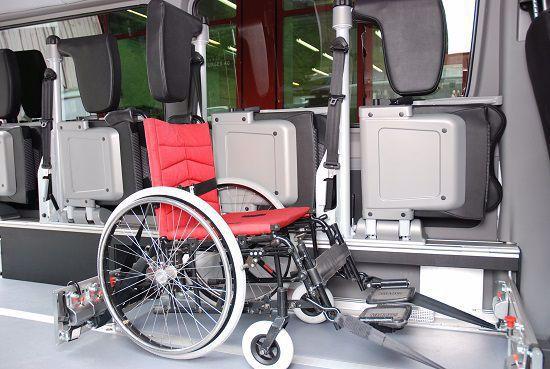 Behinderten Transport Wiesenplatz Garage AG Basel