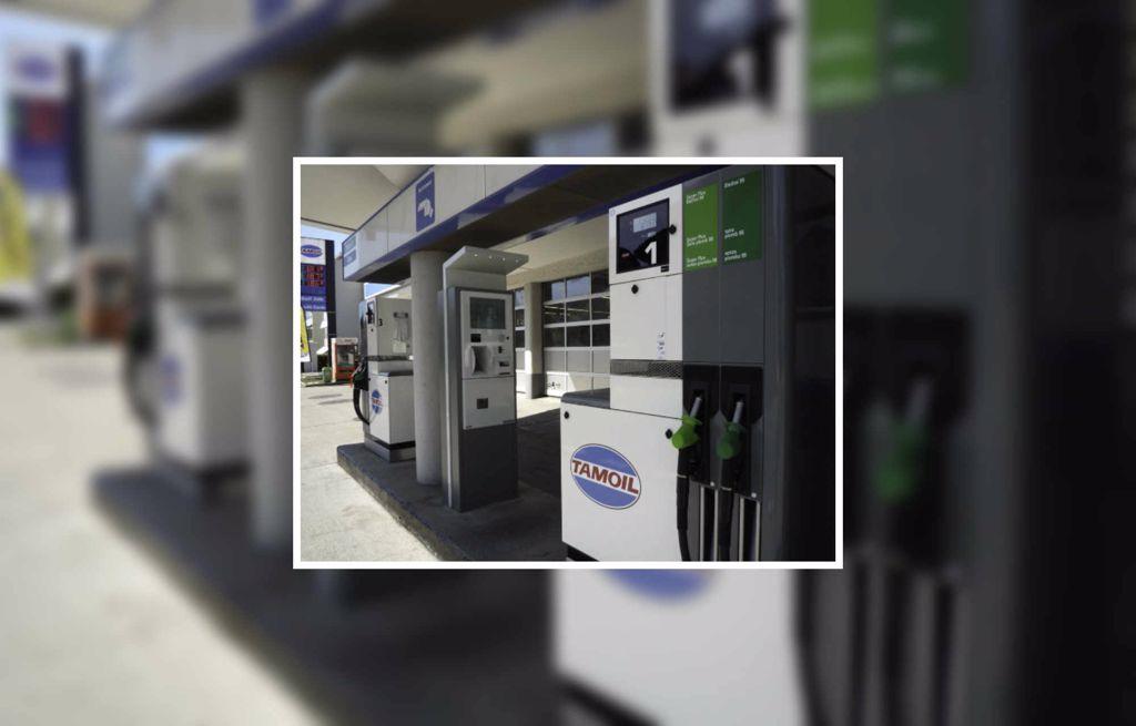 Tankstelle der Garage Fuchs Siegnen