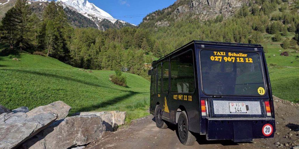 Garage Schaller Taxi Zermatt