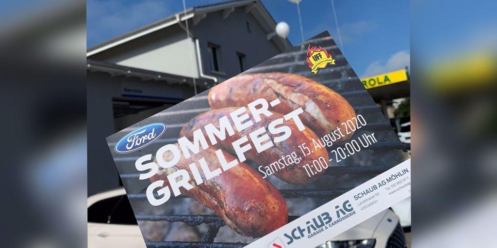 Sommer-Grillfest der Schaub AG Möhlin
