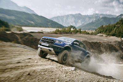 Ford Ranger Raptor– Präsentation des ultimativen Performance-Pick-ups auf der Gamescom
