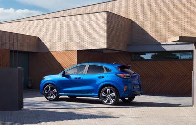 **Der neue Ford Puma:** Crossover mit faszinierendem Design und Ecoboost Hybrid-Technologie