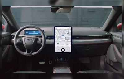 **Neue Generation von Ford SYNC** - Anfang 2021 erstmals für den vollelektrischen Ford Mustang Mach-E erhältlich
