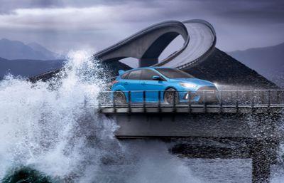 Nouvelles Focus RS et Ford GT réunis au célèbre Festival of Speed de Goodwood aux côtés de Ken Block