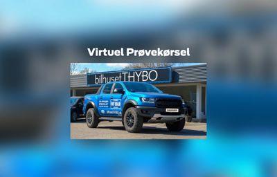 Virtuel prøvekørsel af Ford Ranger Raptor
