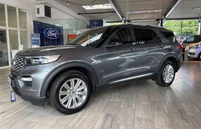 Oplev Ford Explorer Platinium Hybrid hos bilhusetTHYBO