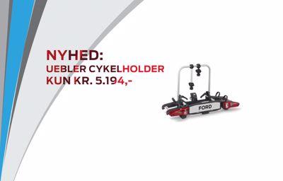 Nyhed: Uebler Cykelholder til kr. 5.194,-