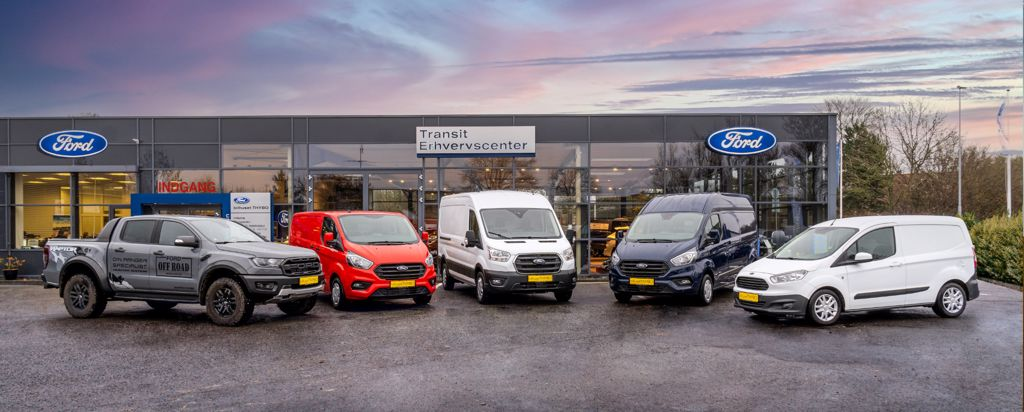 Velkommen til Bilhuset THYBO erhvervscenter i Vissenbjerg