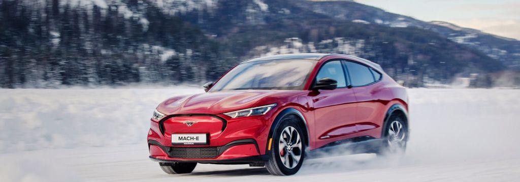Den nye elektrisk Mach-E - Ford Vordingborg