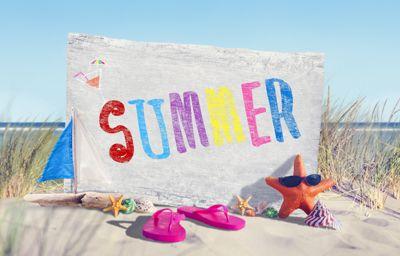 Sommerens åbningstider uge 27-32