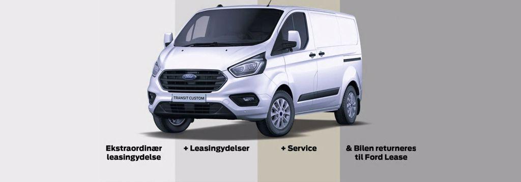 Ford Erhvervsleasing – vi har gjort leasing nemt