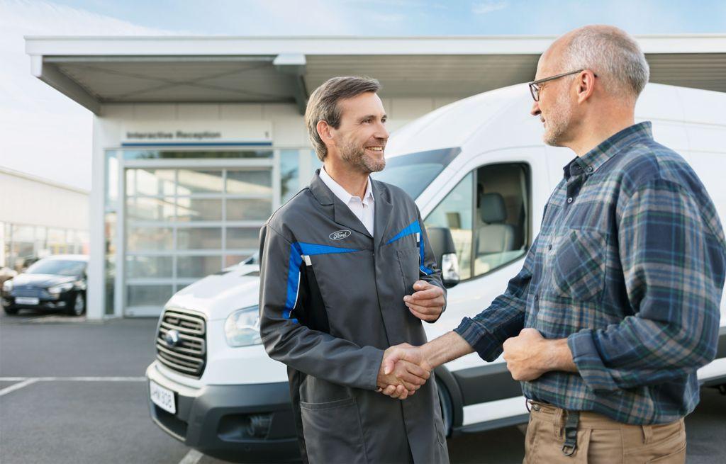 Leasing via Ford business partner