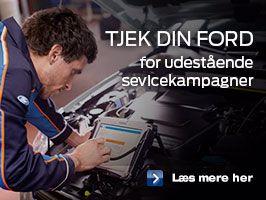 Check din Ford for opdateringer