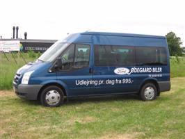 Udlejning af mini bus