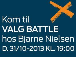 Kom til Valg battle hos Bjarne Nielsen i Herning!