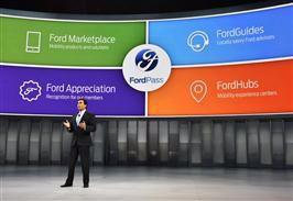 Biludstillingen i Detroit åbner med et brag af nyheder fra Ford - FordPass
