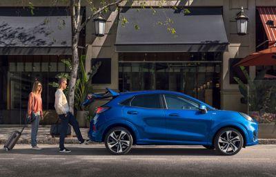 Den nye Ford Puma hos Pedersen & Nielsen