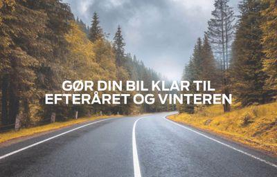 Gør din bil klar til efteråret og vinteren