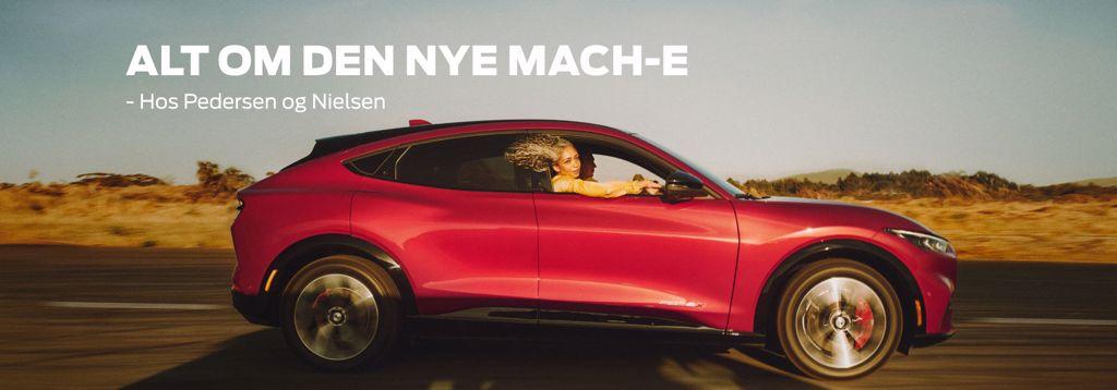 Alt om Ford Mustang Mach-E