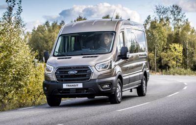 Ford præsenterer den komplette Transit serie