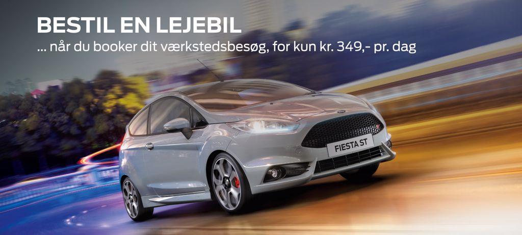Billig lejebil fra Autohuset Vestergaard - Ford i Horsens, Kolding og Odense S