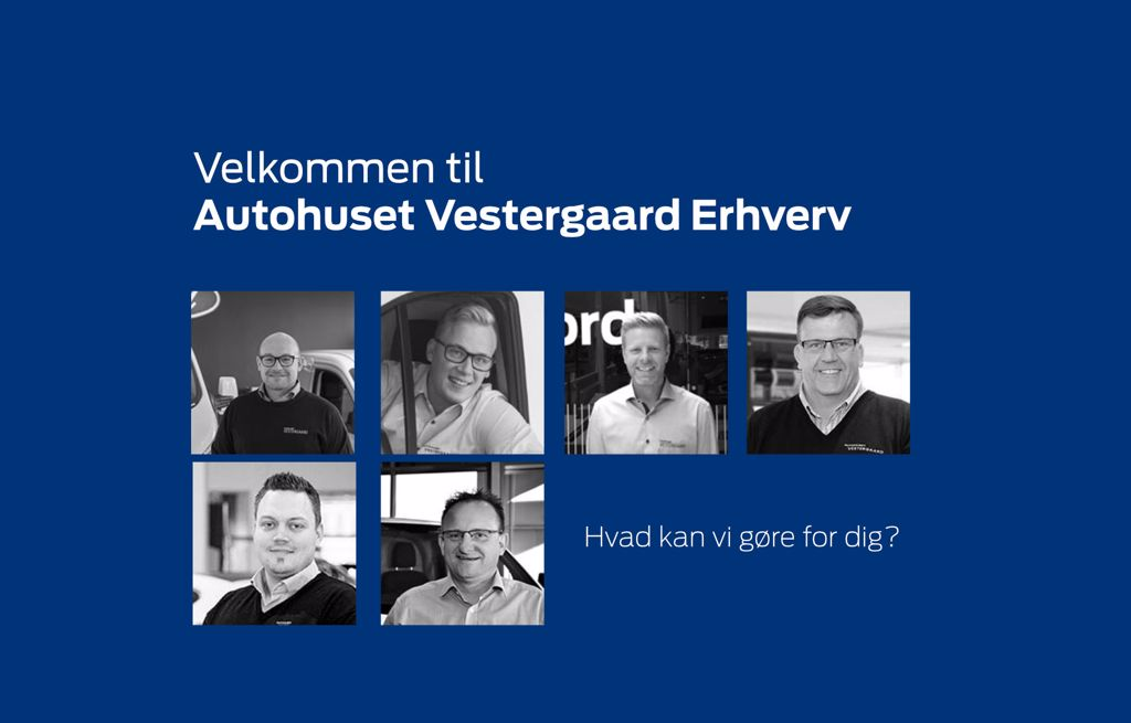 Billige erhvervsløsninger hos Autohuset Vestergaard - Ford i Horsens, Kolding og Odense S