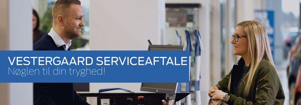 Billig serviceaftale hos Autohuset Vestergaard - Ford i Horsens, Kolding og Odense S