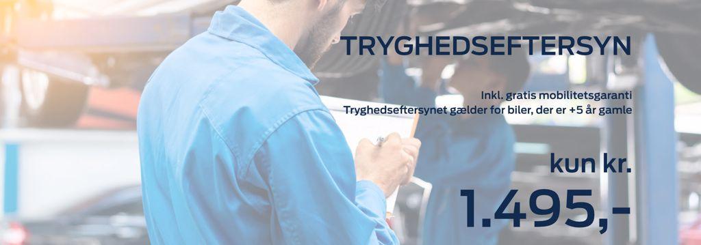 Billig serviceeftersyn hos Autohuset Vestergaard - Ford i Horsens, Kolding og Odense S