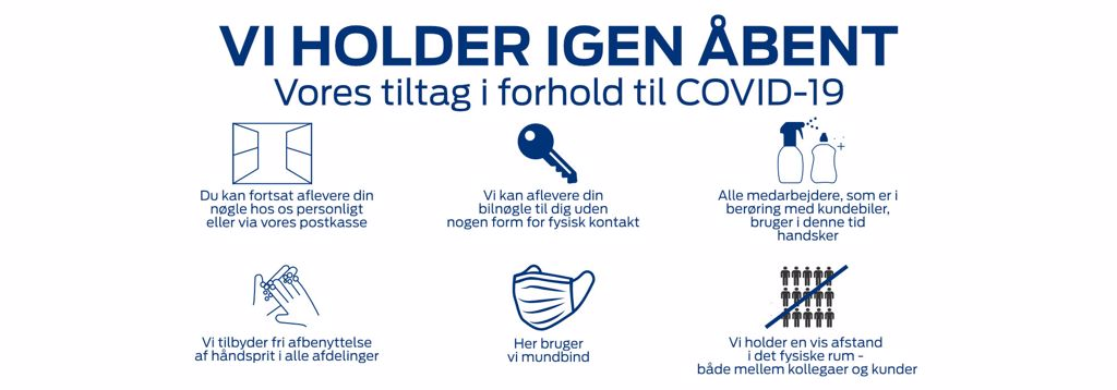 Covid-19 info Selandia Automobiler