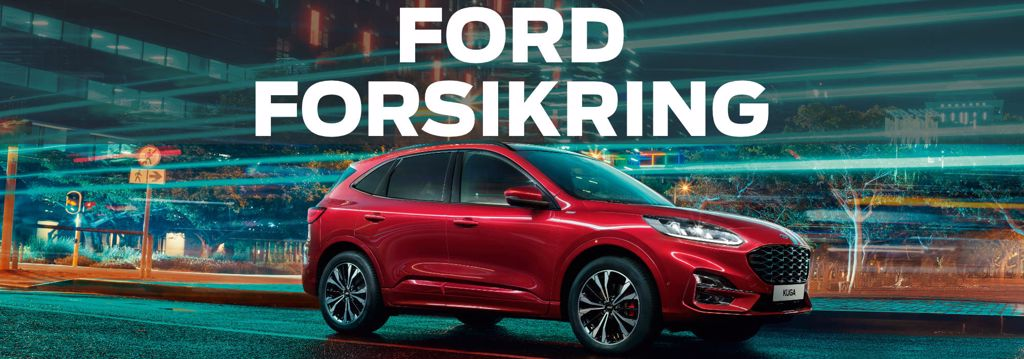 Bilforsikring til din bil. En Ford forsikring er skræddersyet specielt til din Ford.