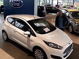 Tillykke med den nye Ford Fiesta