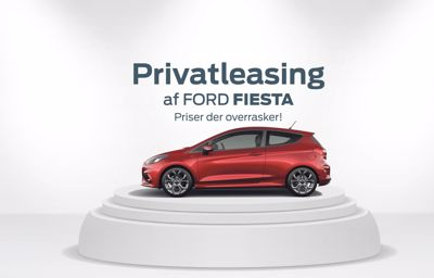 Privatleasing af Ford Fiesta