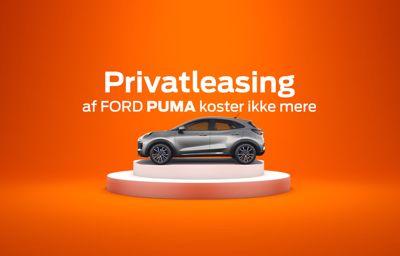 Privatleasing af Ford Puma