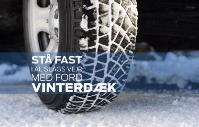 Husk at skifte til vinterdæk - vi står klar til at hjælpe!