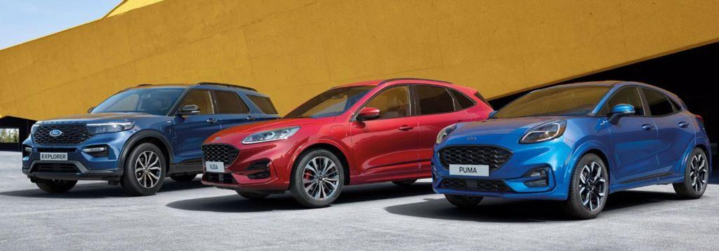 Nye Ford modeller 2020-21