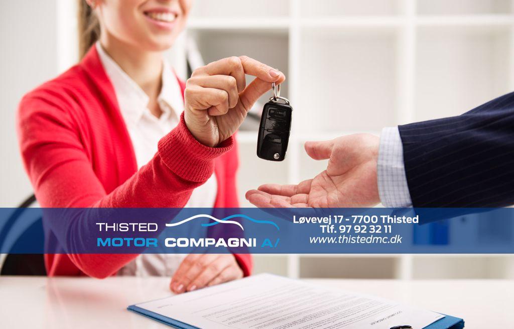 Ford biludlejning personbiler og varebiler hos Thisted Motor Compagni
