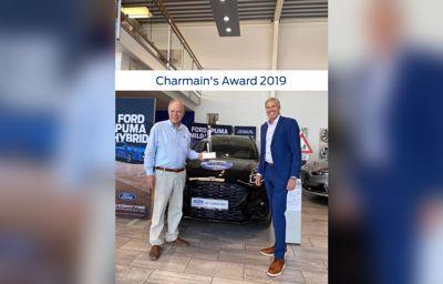 Vinder af Ford Chairman's Award 2019