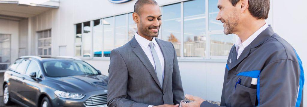 Ford værksted hos Lemvig Auto