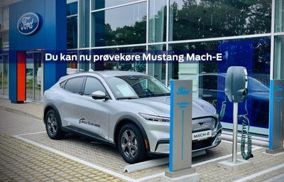 Du kan nu prøvekøre Mustang Mach-E hos Jørgen Olsen