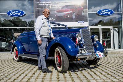 Jørgen Olsens lange liv med Ford