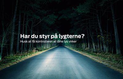 Grundigt lygtetjek hos Jørgen Olsen