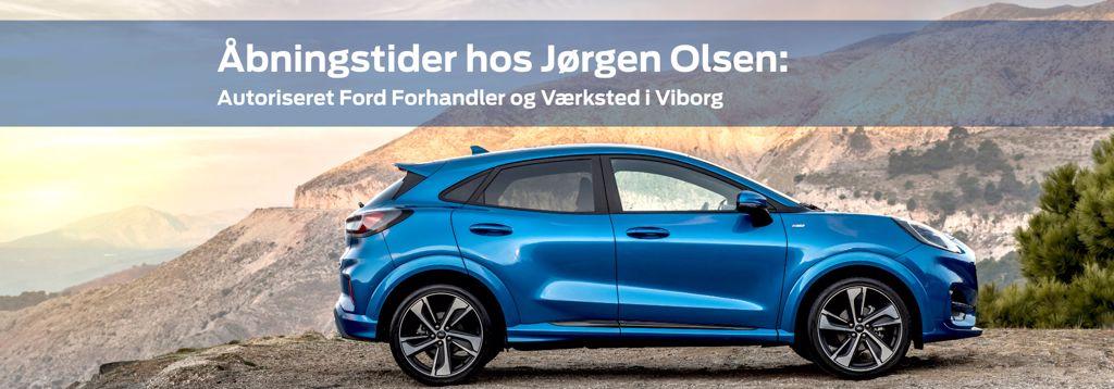Åbningstider hos Ford Viborg