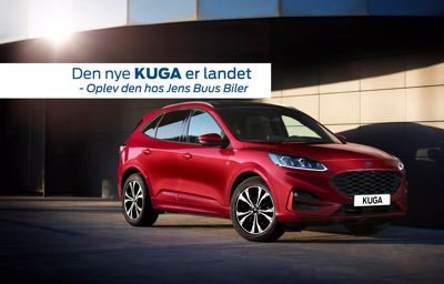 Den nye Ford Kuga PHEV er landet i Aars