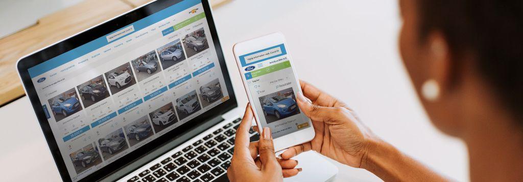 Virtuel salgsafdeling - brugte biler
