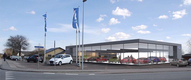 Åbningstider hos Jens Buus Biler A/S Ford i Aars