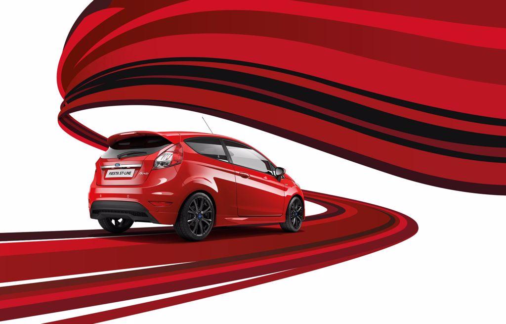 Fiesta ST-LINE nu fra kun 164.990
