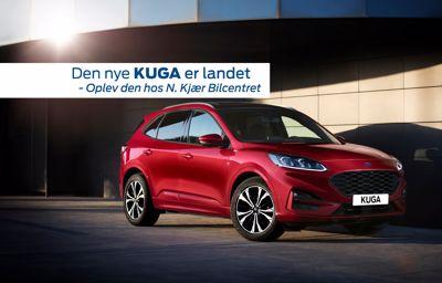 Den nye Ford Kuga er landet hos N. Kjær Bilcentret