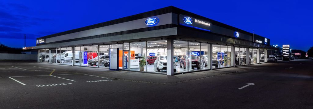 Åbningstider hos Ford i Svendborg