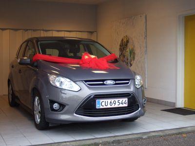 Tillykke med den nye bil Ford C-Max Titanium